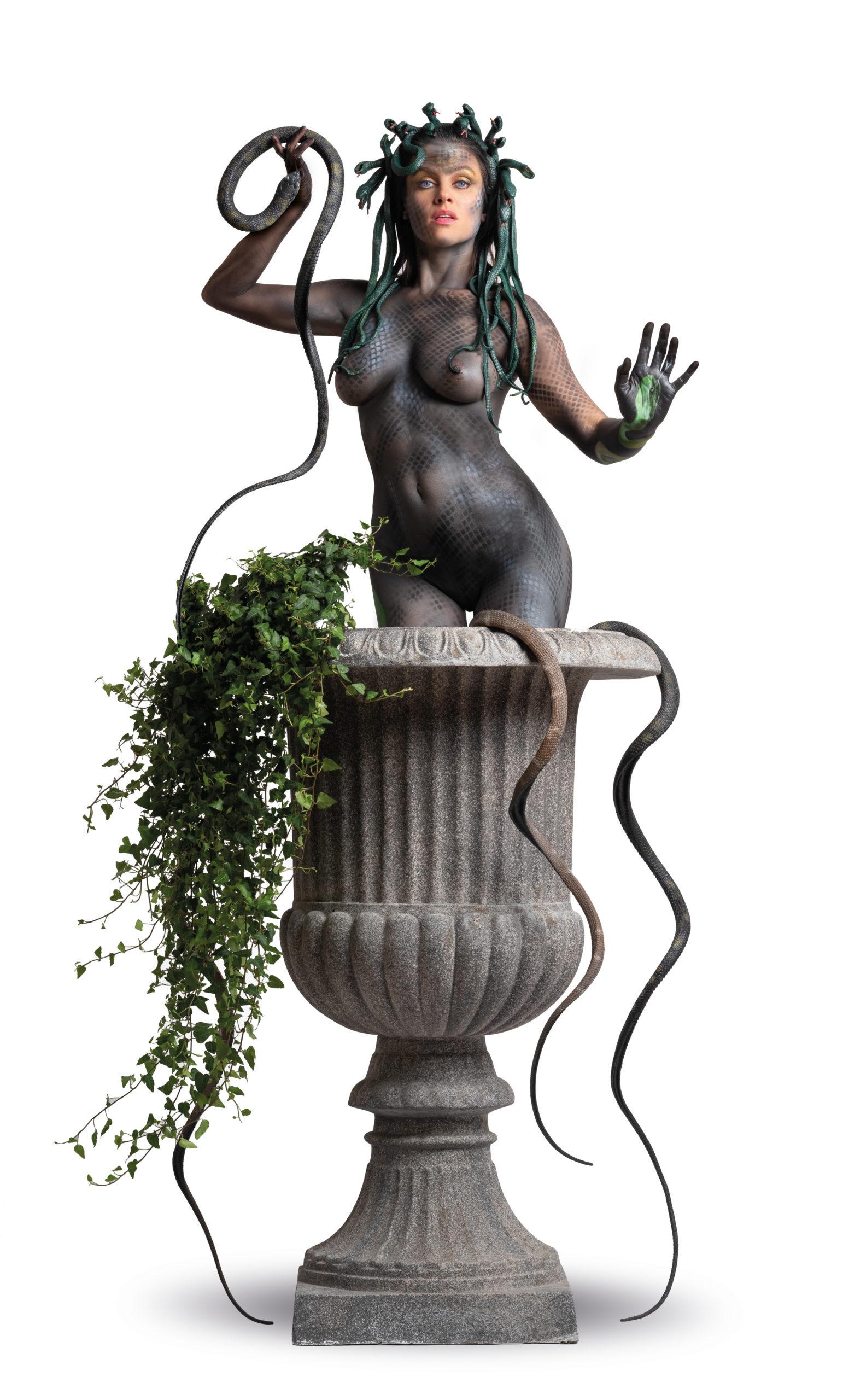 MEDUSA by STEMUTZ feat. Nina Burri, Expo PPAF, Galerie J-J. Hofstetter Fribourg