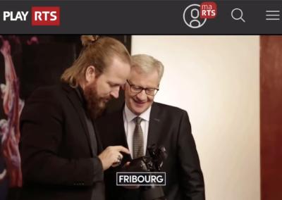 Emission TV sur RTS - Le Conseil d'Etat Fribourg 2020 - la photo officielle