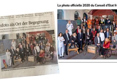 ... articles dans la presse locale: Freiburger Nachrichten et La Liberté