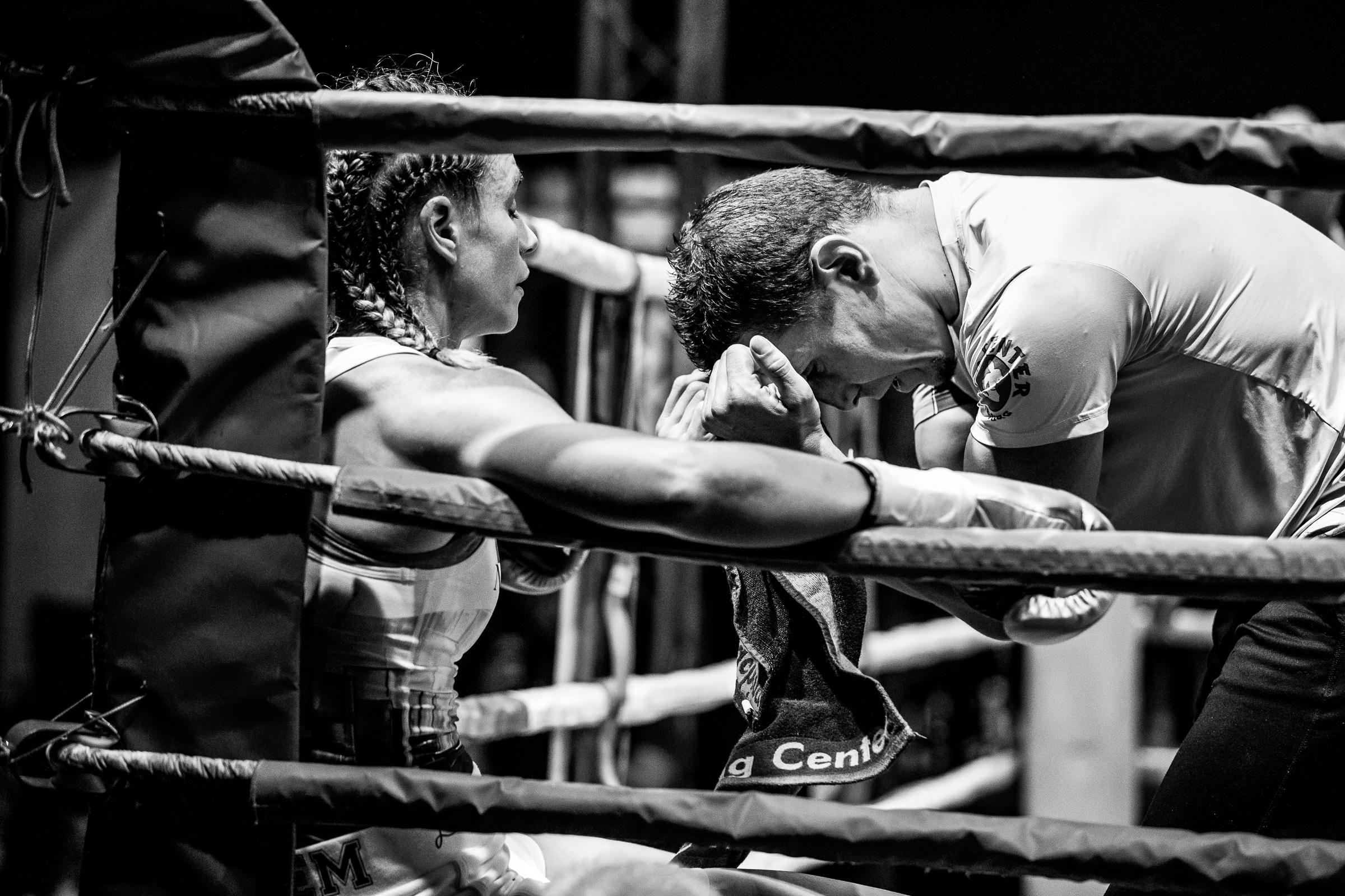 Olivia (Boa) Boudouma vs. Aleksandra Vujovic by STEMUTZ, La Prillaz