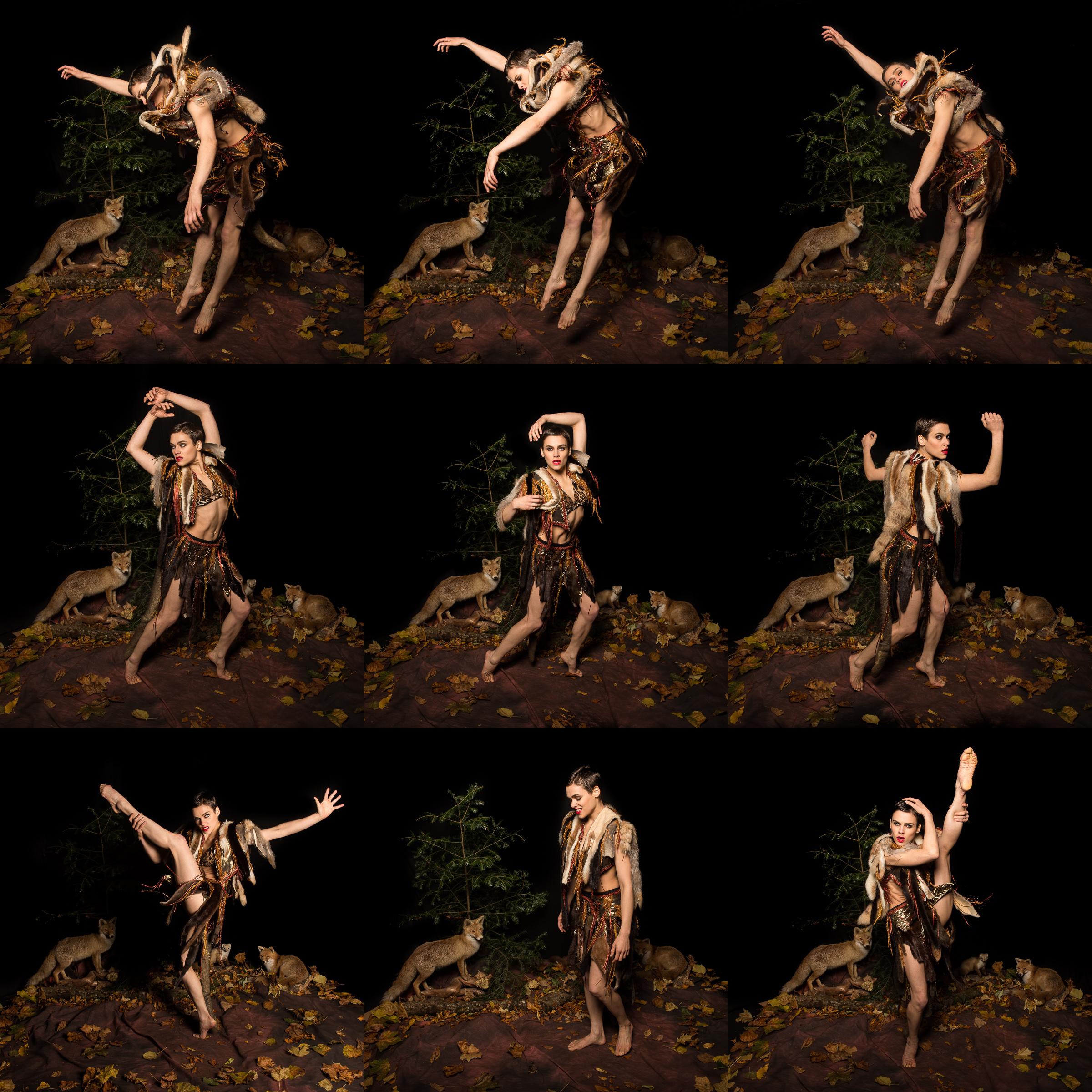 Nina Burri Foxy Lady Shoot @ CHAMBRE NOIRE Studio, Fribourg, 30.10.2013