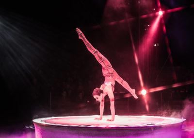 Nina Burri @ Circus KNIE, Fribourg, Suisse, 2013