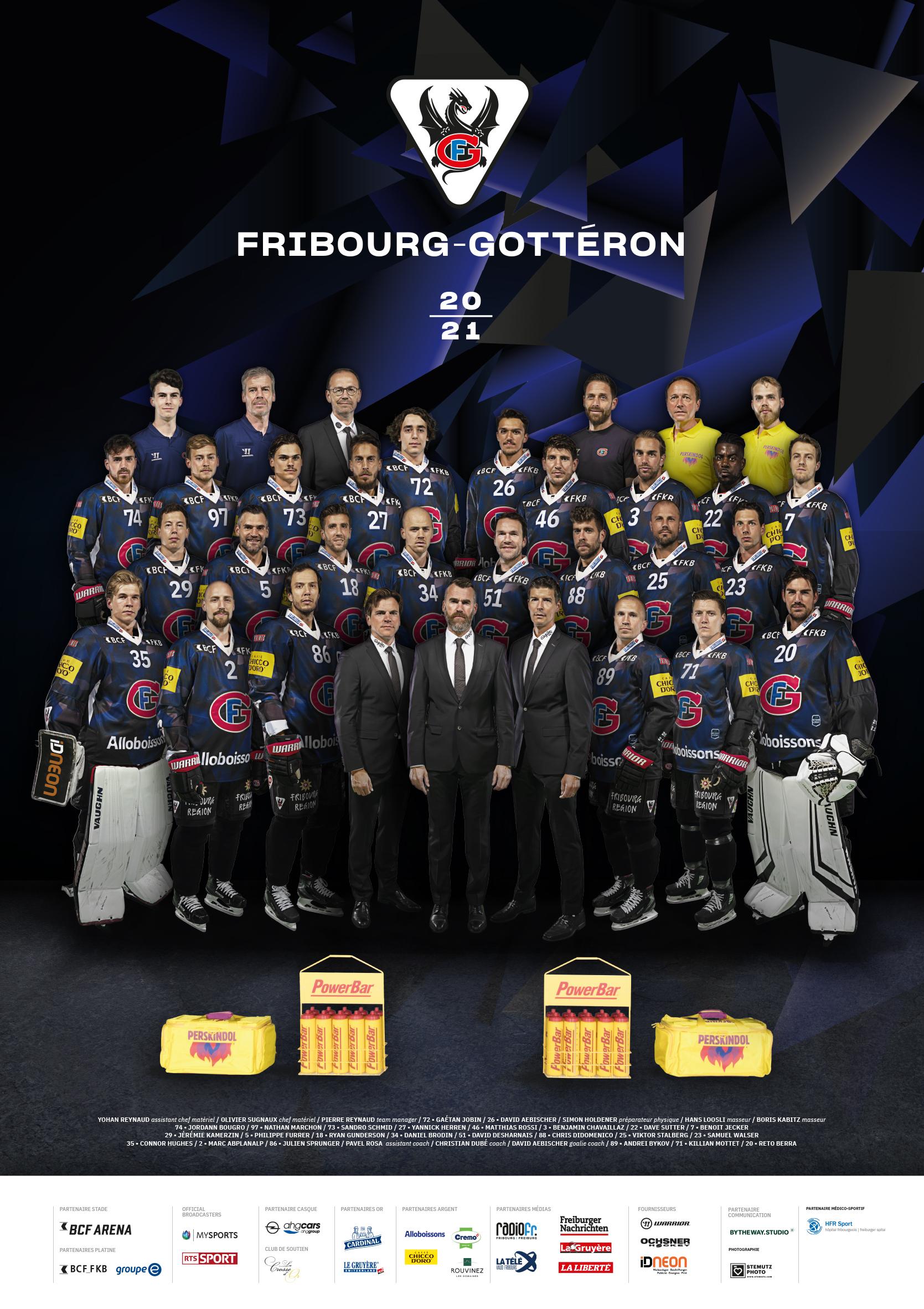 HC Fribourg Gotteron ... Werbewoche Eyecatcher STEMUTZ