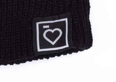 Heart Logo Fisherman Beanie STEMUTZ